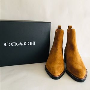 Coach Chelsea Bowery Bootie NEW with Box and bag